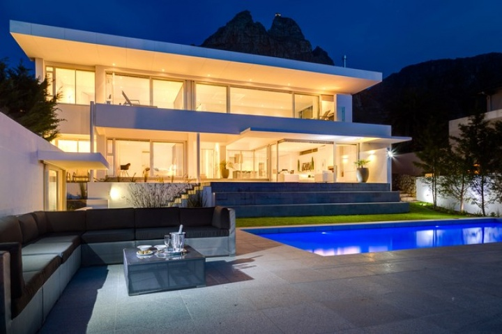 Modern camps bay holiday rental villas Home furniture rental cape town